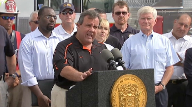 Christie: Boardwalk Fire is '95 Percent' Contained