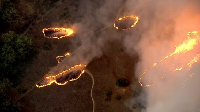 """""""Monster"""" Calif. Wildfire Forces New Evacuation"""