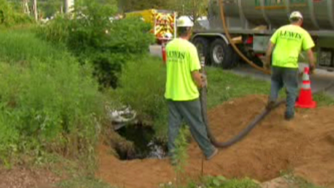 Crews Continue Clean Up of Gas Leak in Chester County