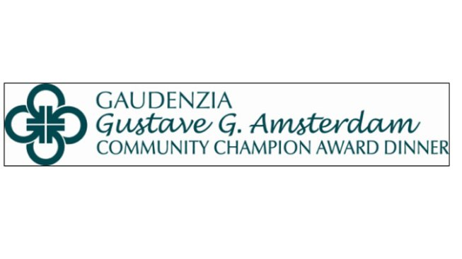 Gustave G. Amsterdam Community Champion Award Dinner