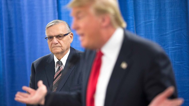 Trump Defends Decision to Pardon Arizona's Arpaio