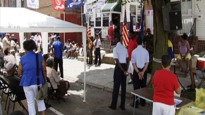 Local Vets Honored During Rally