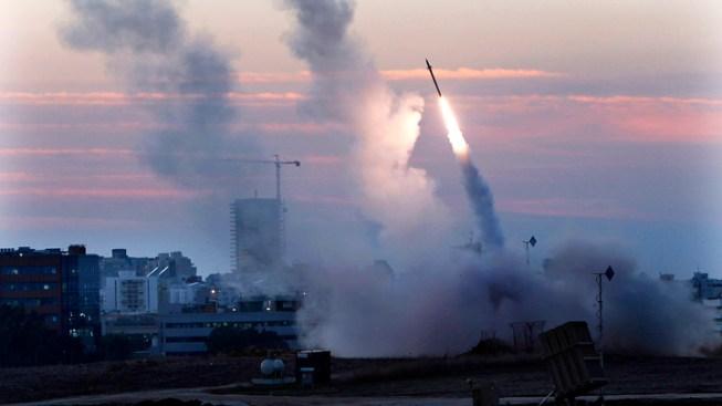 'Iron Dome' Intercepts Rocket
