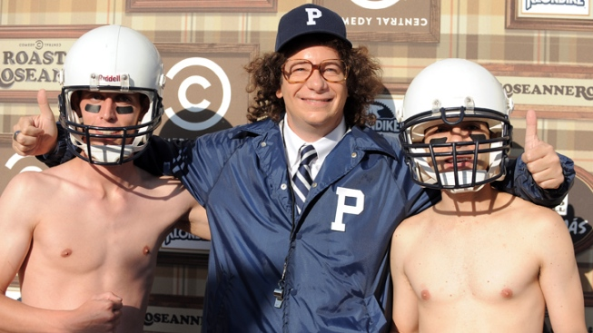 Jeff Ross Dresses Like JoePa for Roseanne Roast