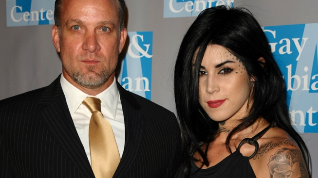 Ouch! Kat Von D Reveals She Had Ex-Fiance Jesse James' Face Inked On Her Torso