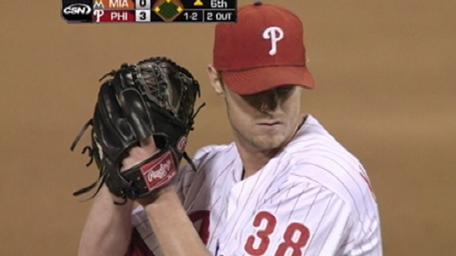 Kendrick Leads Phillies Past Marlins