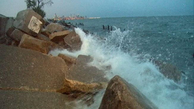 Human Leg Washes Onto South Side Chicago Beach