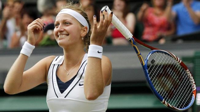 Kvitova New Wimbledon Champion