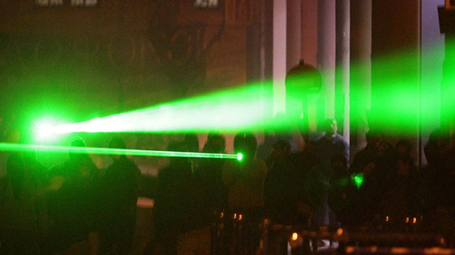 Man Gets 33 Months for Aiming Laser Pointer at Helicopter