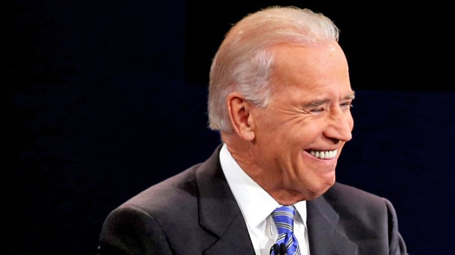 Joe Biden Laughs All Over Twitter