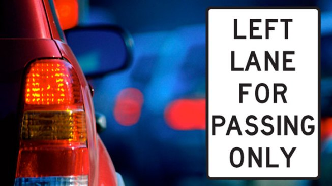 Fines Go Up for Left Lane Hogs