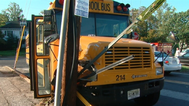 School Bus Crashes in Camden County