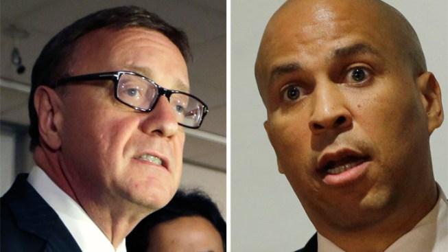 Booker, Lonegan Throw Jabs to Open Senate Race