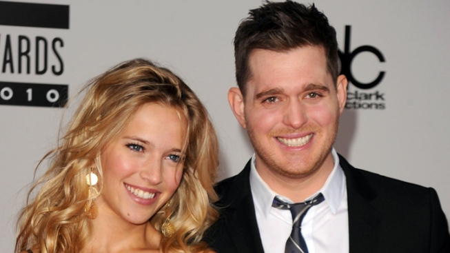 Michael Buble, Luisana Lopilato Welcome Baby Boy