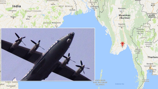 Bodies found in search for missing Myanmar plane