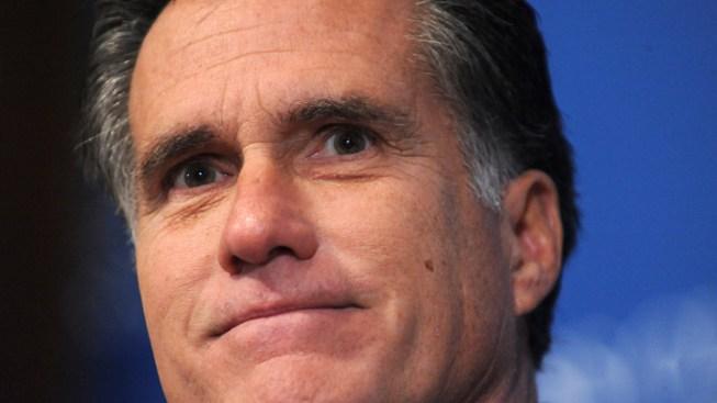 """Mitt Romney Gets His Own """"Top Ten"""" on Letterman"""