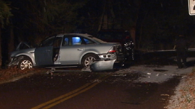 3 Injured in Montgomery County Crash