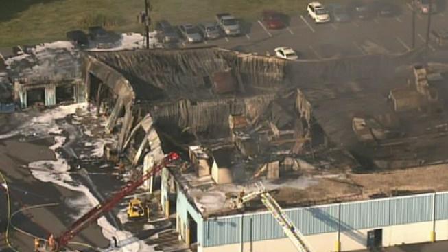 3 Alarm Fire Burns Along Pa. Turnpike