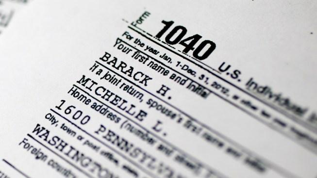 Obama Tax Return: President's Income Down 23 Percent