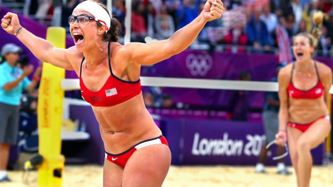 Kessy and Ross Win Sets Up All-American Beach Volleyball Final