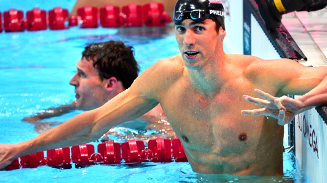 The Greatest! Phelps Beats Lochte; Makes History Again