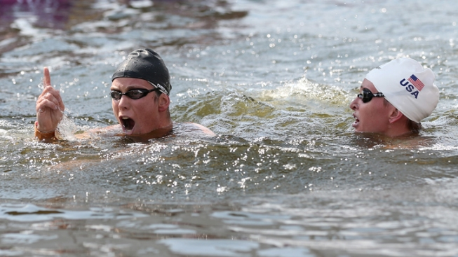 U.S. Takes Silver, Hungary Gold in 10K Open Water Marathon
