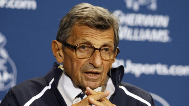 Paterno Issues Statement, Confirming Retirement