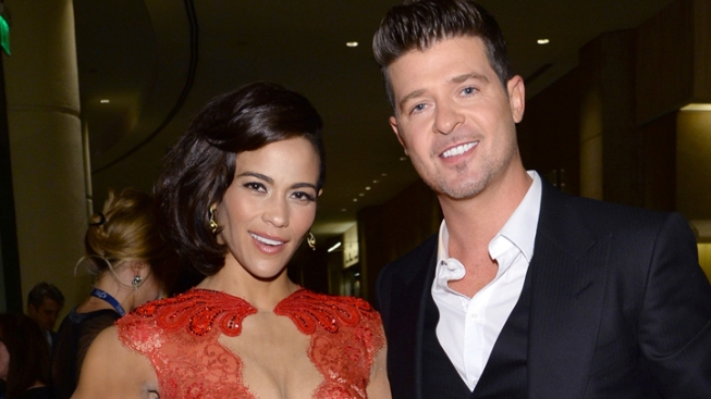 "Paula Patton Talks ""Deep Love"" for Robin Thicke"