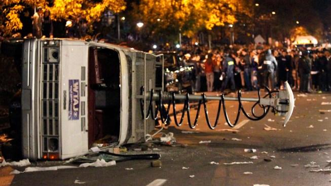 PSU Riot Ends Aspiring Army Officer's Dream