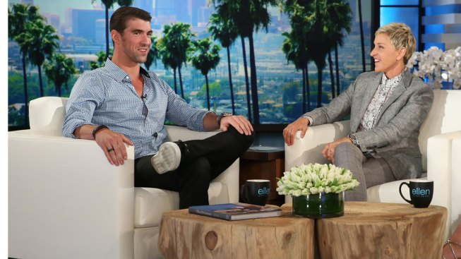 Just Keep Swimming: Michael Phelps Makes First Ever Appearance on 'Ellen'