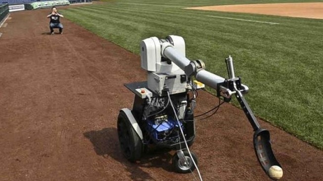 Robot to Throw First Pitch at Phillies Game