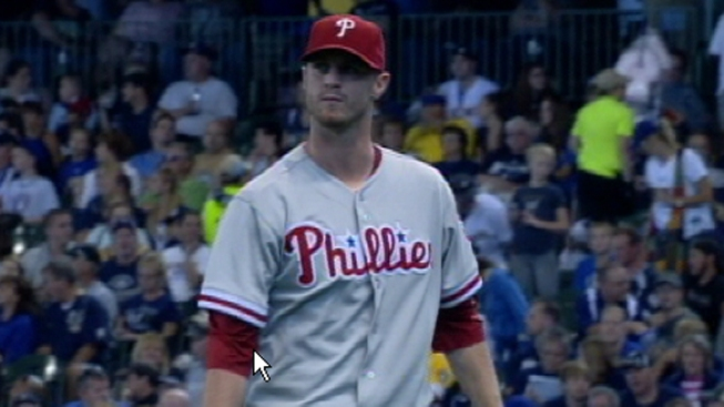 Kendrick Pitches Phillies Past Brewers