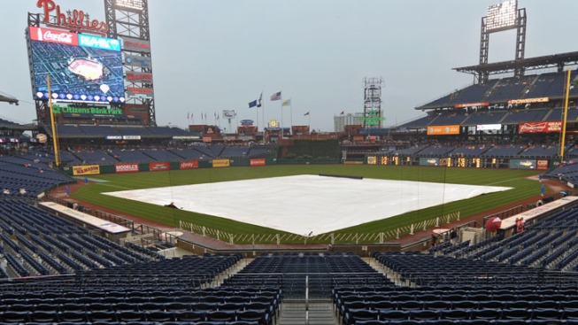Phillies Game Postponed Due to Weather