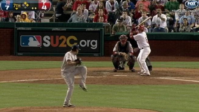 Red Sox Snap Phillies Winning Streak