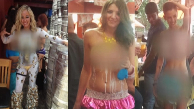 Fort Worth: Body Paint Doesn't Count as Clothing For Servers
