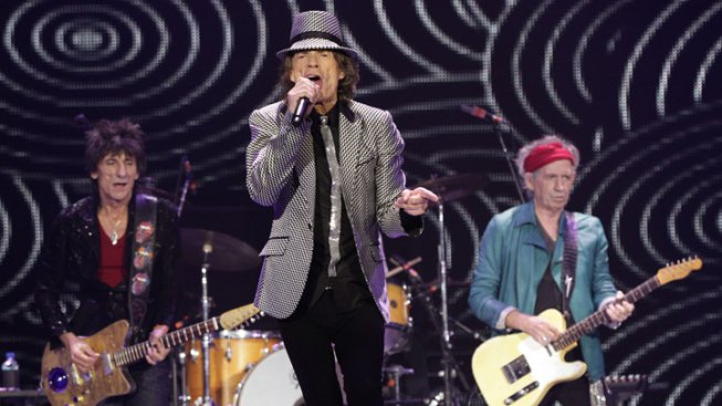 Stones Play Long-Awaited Glastonbury Gig