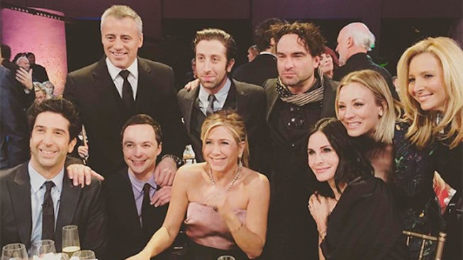 First Look at 'Friends' Cast Reunion
