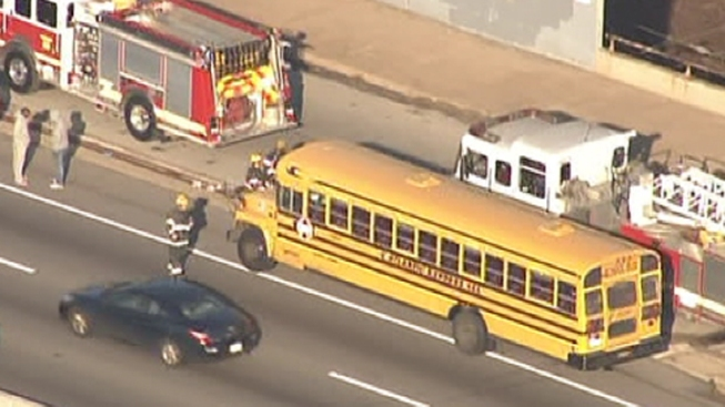 School Bus Accident on Roosevelt Boulevard
