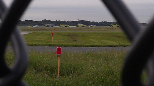 Plane With Hydraulic Failure Makes Emergency Landing