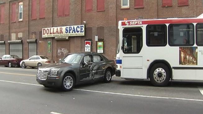 2 Injured in SEPTA Bus Crash