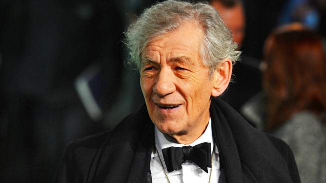 "Ian McKellen Officiating at Wedding of ""X-Men"" Costar Patrick Stewart"