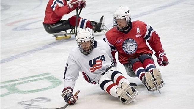 Flyers Sled Hockey Hits the Ice