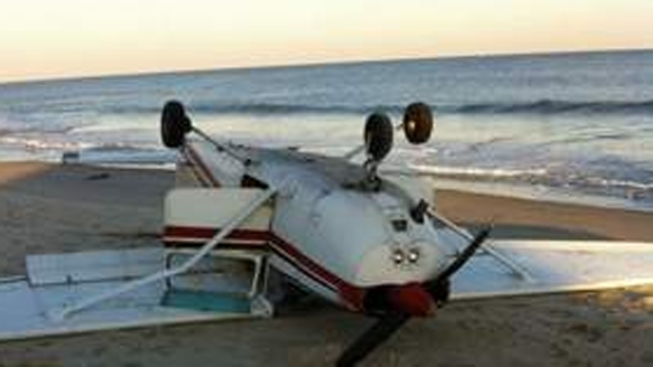 Pilot Escapes Injury in Small Plane Crash in Ocean County
