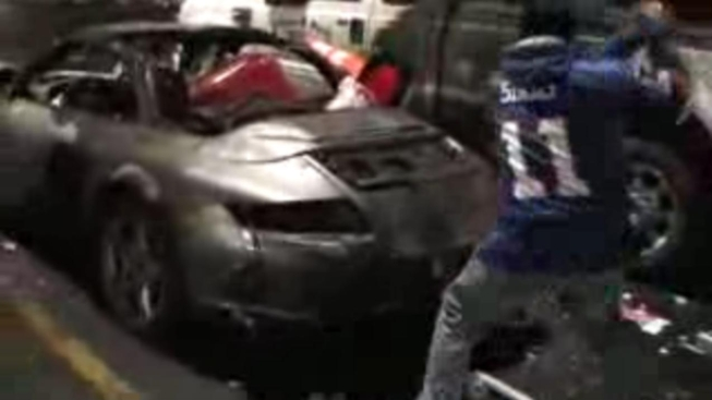 Giants Fans Smash Cars After Sunday's Loss