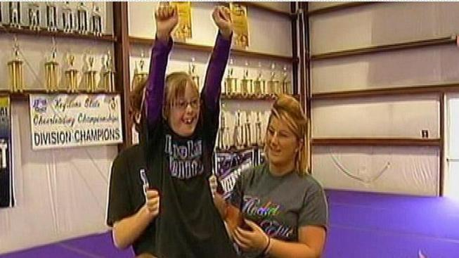 Special Stars Cheerleaders Compete in National Championship