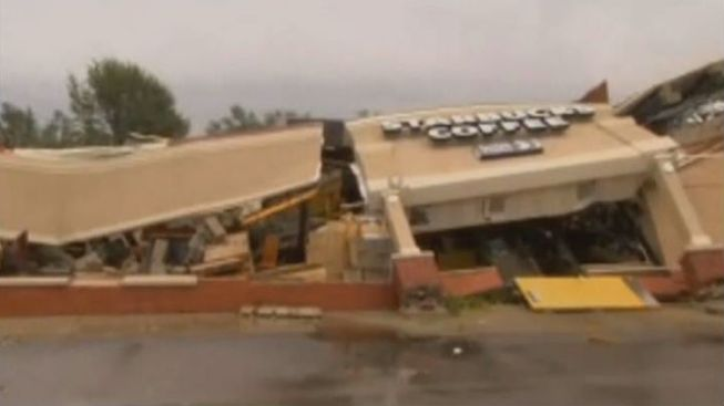 'Destructive' Tornado Hits Indiana, Levels Starbucks