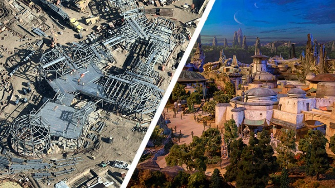 [NATL-LA-updated 030619] Look From Above: New Photos of Disneyland's Star Wars Land and More