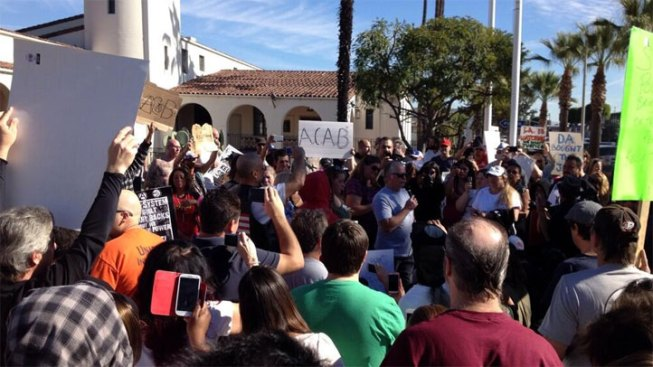 13 Arrested in Protest of Calif. Officers' Acquittal