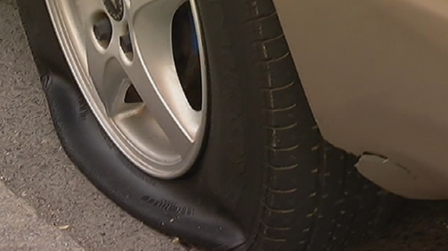 Del. Police Investigate Tire Slashings