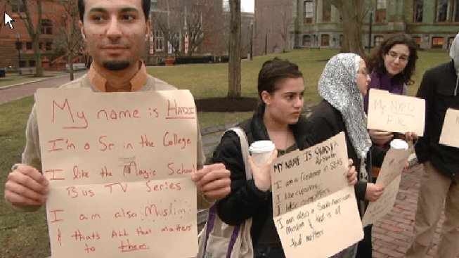 UPenn Students Protest Against NYPD Surveillance